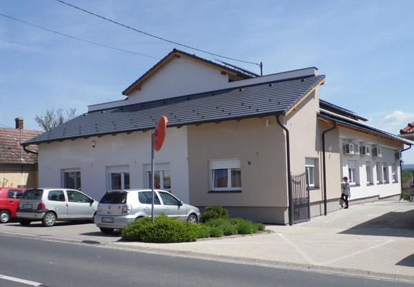 Megújult az alsópáhoki községháza