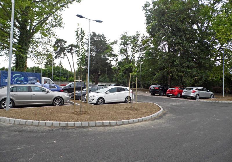 Ingyenes parkoló épült Keszthelyen