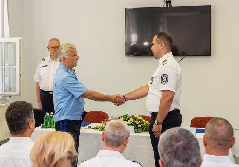 Rendőrkapitányi kinevezés