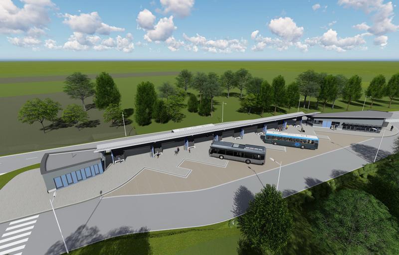 Hét hónap alatt elkészül Hévíz új autóbusz pályaudvara