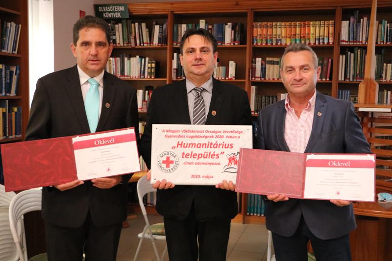 Vöröskeresztes elismerések