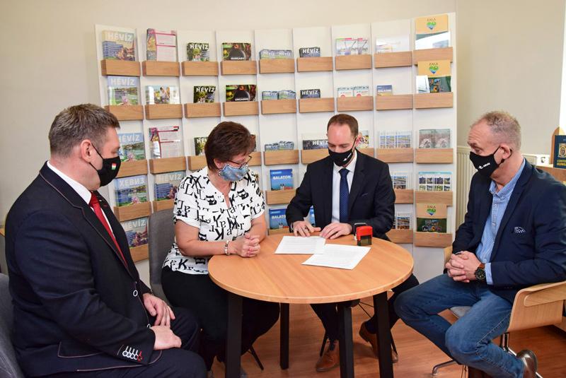 Együtt a turisztikai és vállalkozói célokért Hévízen
