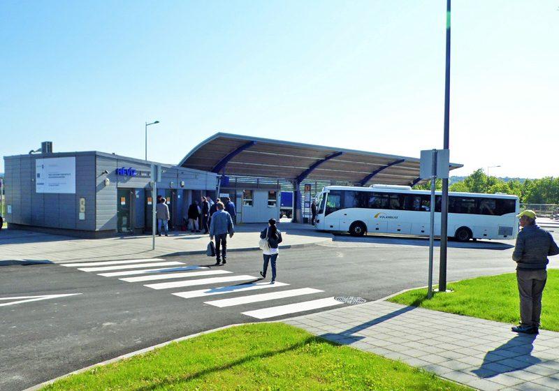Üzemben Hévíz új autóbusz-pályaudvara