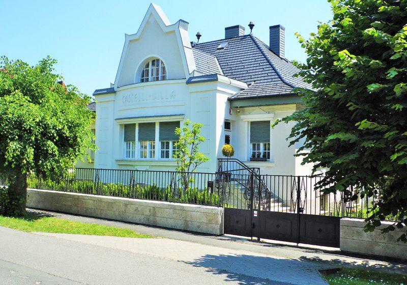 A Balaton keszthelyi házai