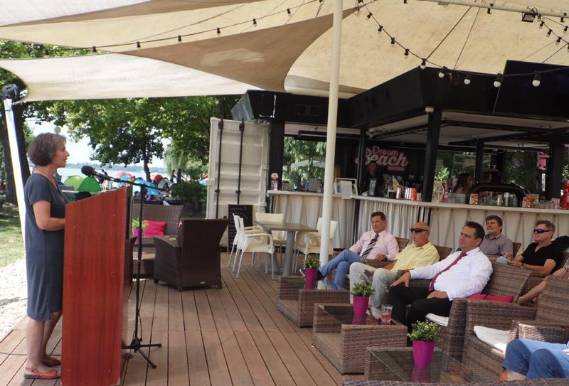 Jubileumot ünnepelt a balatoni civil közösség Gyenesdiáson